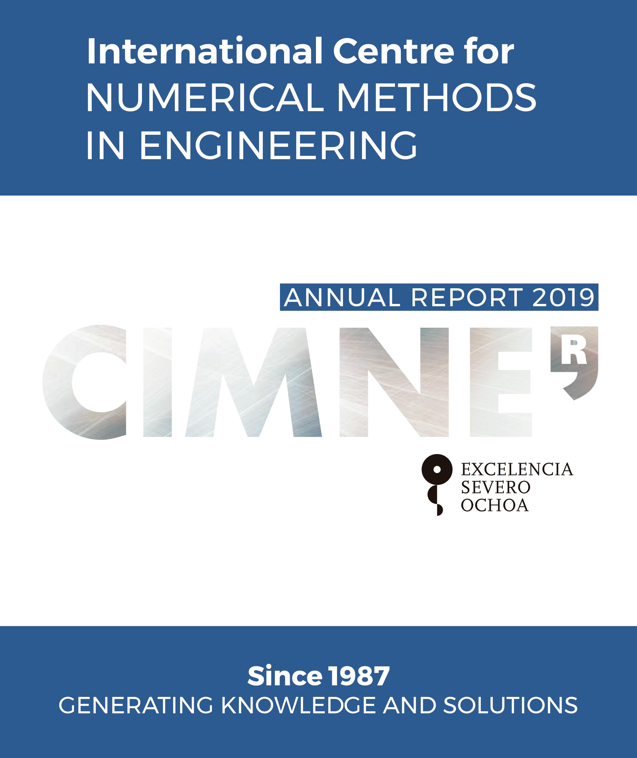CIMNE Annual Report Cover
